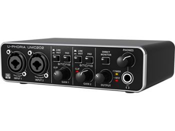 Interface de Audio Behringer Uphoria UMC 204