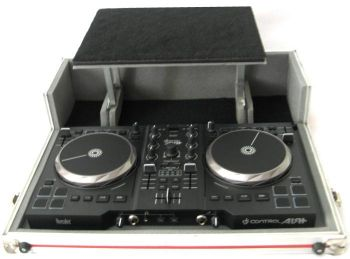 Case para Controlador Hercules DJ Air + (Plus) com Plataforma Notebook