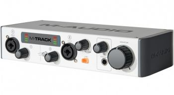 Interface de Áudio M-Audio M Track MKII
