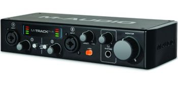 Interface de Áudio M-Audio Mtrack Plus II