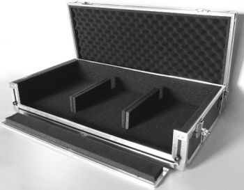 Hard Case para KIT DJ Pioneer 2 CDJ 350 + 1 Mixer DJM 350