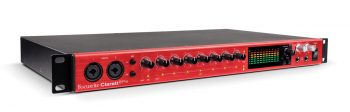 Interface de Áudio Focusrite Clarett 8Pre