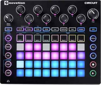 Sintetizador Novation Circut Step Synth