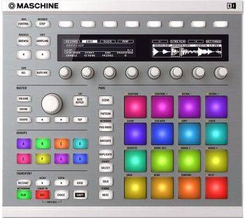 Controlador Maschine MK2 WHITE Native Instruments  - foto 3