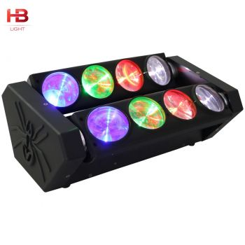 LED SPIDER 8X12W RGBW LEDS CREE 4 IN 1 HB-SP96