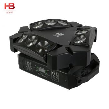 MINI MOVING HEAD BIRD 9 X10W LED RGBW HB-M9HB SPIDER