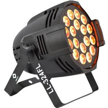 CANHÃO LED OPTPAR ULTRA POWER 6IN1 RGBWA+UV LL-324FL LED FULL  - foto 4
