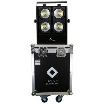 LL-400WA-BRT MINI BRUT LED 4 SAÍDAS PAR NO CASE