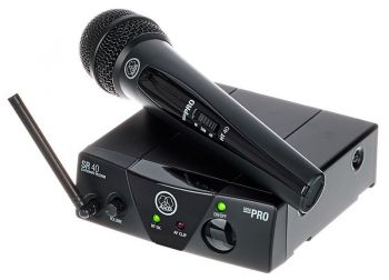 Microfone AKG WMS40 Mini Vocal Set (UHF)