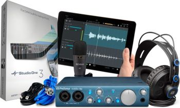 Kit Interface de Audio PreSonus AudioBox iTwo Studio