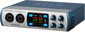 Interface de Audio PreSonus AudioBox Studio 26