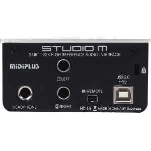 AMW Midiplus Studio M Interface de Audio USB 192K 24b  - foto principal 3