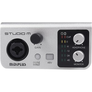 AMW Midiplus Studio M Interface de Audio USB 192K 24b  - foto principal 1