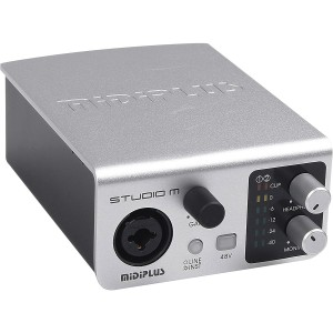 AMW Midiplus Studio M Interface de Audio USB 192K 24b  - foto principal 2