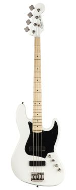 Squier Contemporary Jazz Bass Active HH MN White