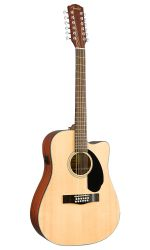 Fender CD-60SCE Dreadnought 12 String Natural