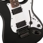 Squier Contemporary Active Stratocaster HH FR Black  - foto 6