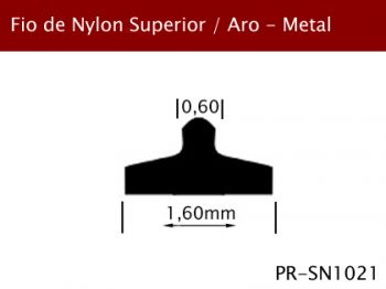 Fio de Nylon Superior/Aro Metal 1,60mm PR-SN1021