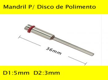 Mandril P/ Disco de Polimento WC-SM23