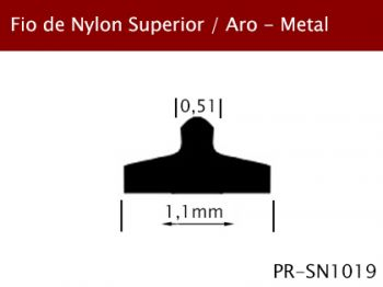 Fio Nylon Superior/Aro Metal 1,1mm PR-SN1019