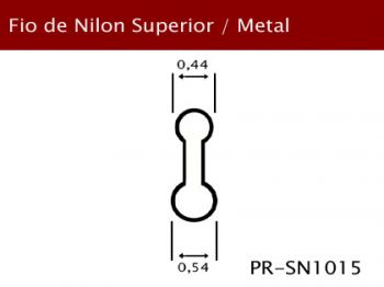 Fio Nylon Superior/Aro Metal 0,54mm PR-SN1015