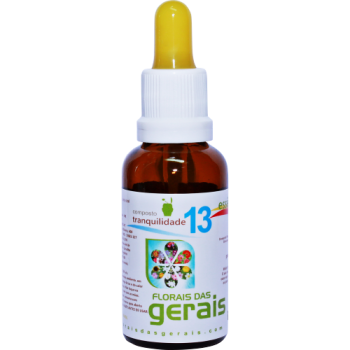 Composto Floral N°13 Tranquilidade 30ml