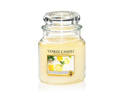 Vela Aromática Yankee Candle Country Lemonade