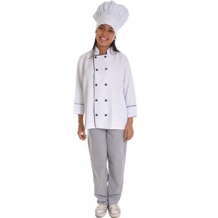 Gastronomia - Uniforme do Chef - Calça Xadrez