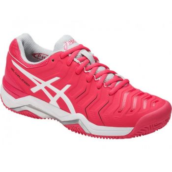 Tenis Asics Gel-Challenger 11 Clay - Rouge Red White Glacier Grey f30dc0fa1bcd0