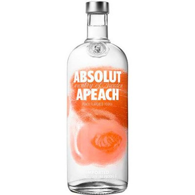 Vodka Absolut Apeach - 1000ml