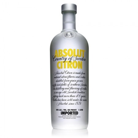Vodka Absolut Citron - 1000ml