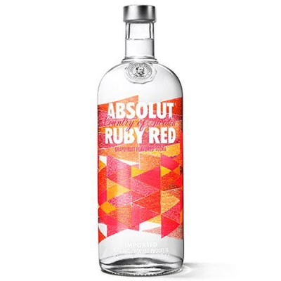 Vodka Absolut Ruby Red - 1000ml