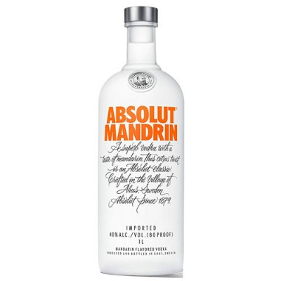Vodka Absolut Mandrin - 1000ml