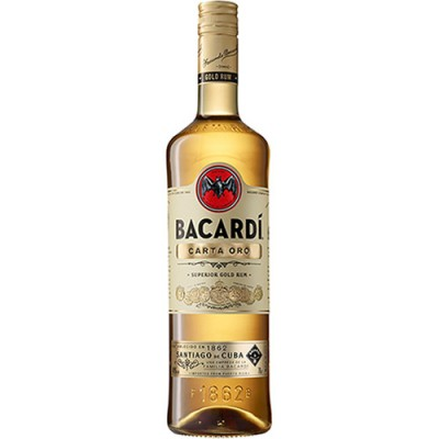 Rum Bacardi Carta Oro - 980ml