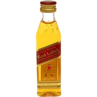 Whisky Johnnie Walker Red Label - Miniatura - 50ml