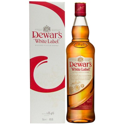 Whisky Dewars White Label - 1000ml