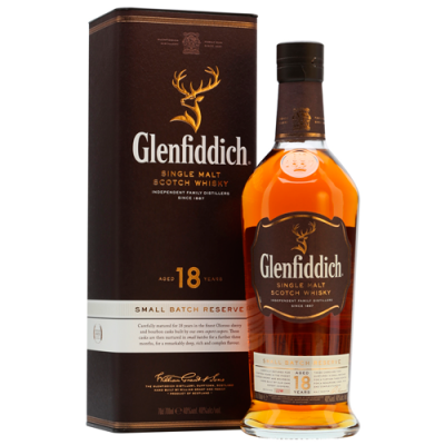 Whisky Glenfiddich 18 Anos - Single Malt - 750ml
