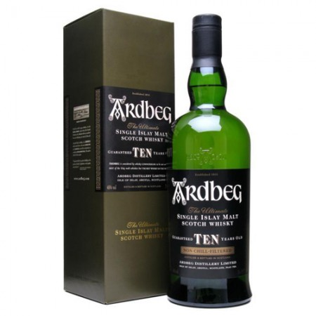 Whisky Ardbeg Single Malt - The Ultimate - 10 Anos - 750ml