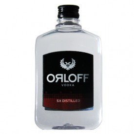 Vodka Orloff 5x Destilada - Miniatura - 250ml