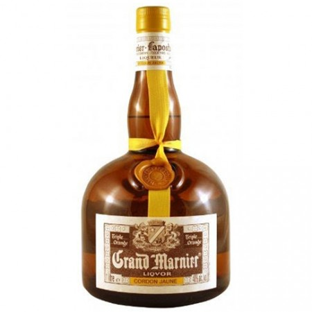 Licor Grand Marnier - Triple Sec - Cordon Jaune - 700ml