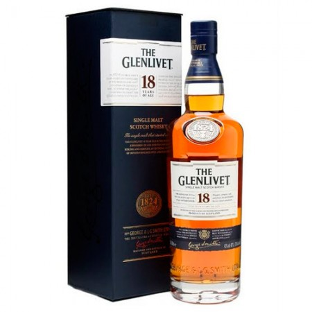 Whisky The Glenlivet 18 Anos - Single Malt - 750ml