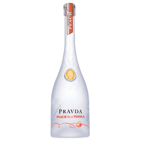 Vodka Pravda Peach - 750ml