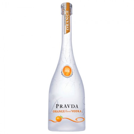 Vodka Pravda Orange - 750ml