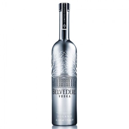 Vodka Belvedere Cromo Led - Special Edition - 1750ml