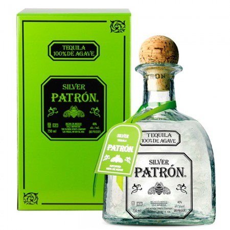 Tequila Patrón Prata - 750ml