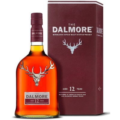 Whisky The Dalmore 12 Anos - Single Malt - 700ml