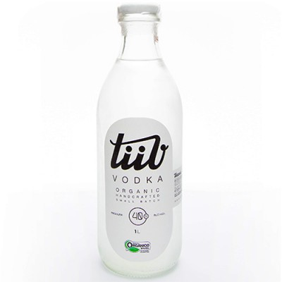 Vodka Orgânica Tiiv - 1000ml