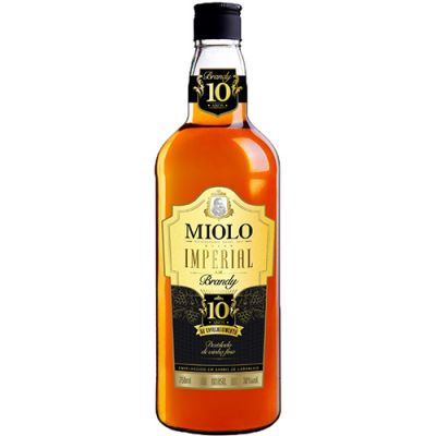 Brandy Miolo Imperial - 10 Anos - 750ml  - foto 1