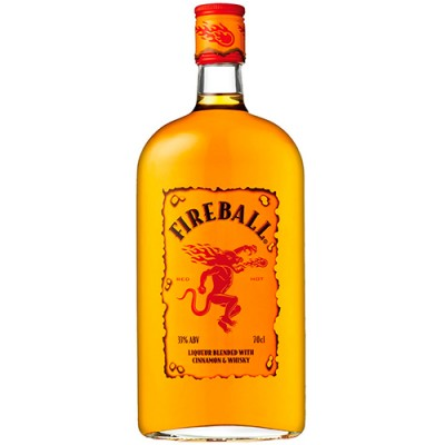 Licor de Whisky Fireball Cinnamon - 750ml