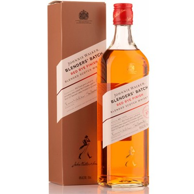 Whisky Johnnie Walker Red Rye Finish - Blenders Batch - 750ml
